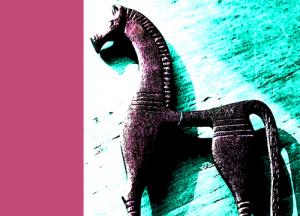 greek-horse-pink