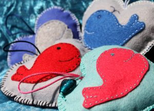 Little Hearts of Happiness - whale gifts